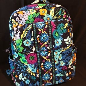 Small Vera Bradley Backpack in Midnight Blues!
